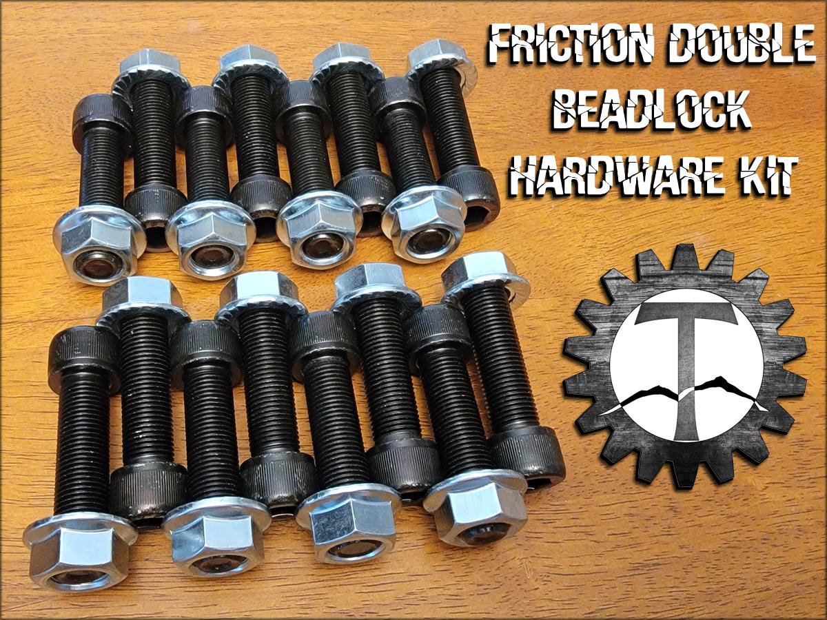Friction Double Beadlock Hardware Kit